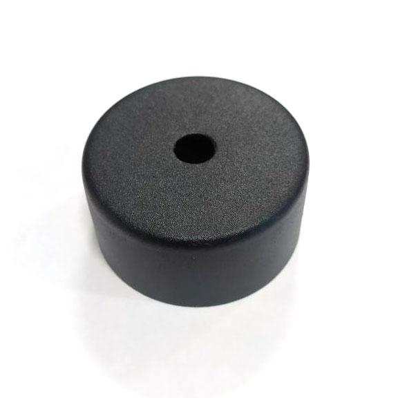 Розетка стельова чорна D58 (кріплення світильника)