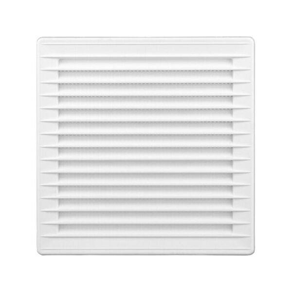 Решітка airRoxy 140×140 white (02-336)
