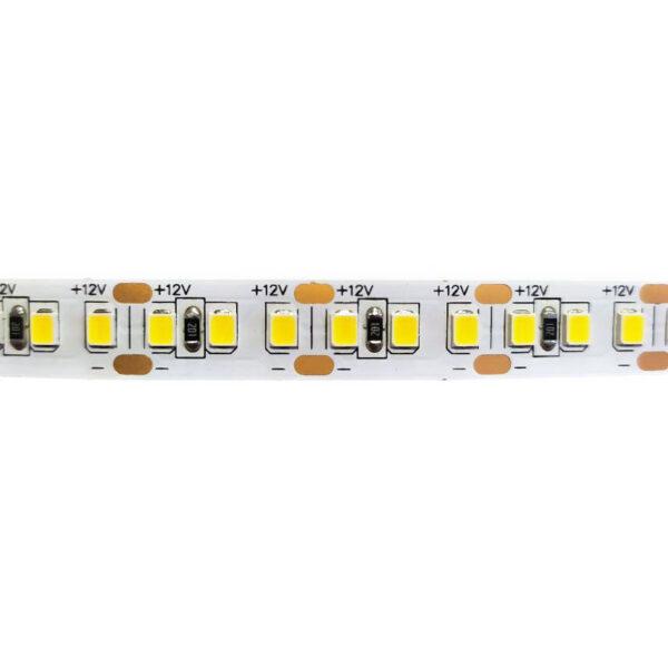 Стрічка св.діод(2835) 3000K IP20 (1м=168діоди) 12Вт/м ціна за 1 метр Motoko