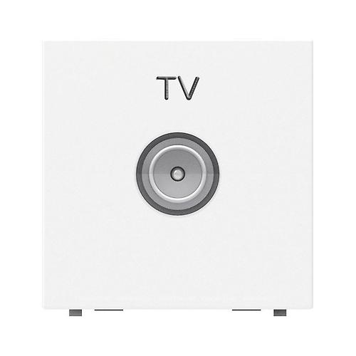 Розетка Zenit біла TV проста 2мод.
