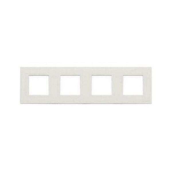 Рамка Zenit 4-на біла