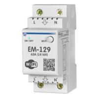 EM-129 WI-FI лічильник, реле з функцією захисту і керування